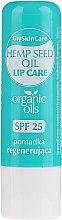 Парфюмерия и Козметика Балсам за устни с органично масло от коноп - GlySkinCare Organic Hemp Seed Oil Lip Care