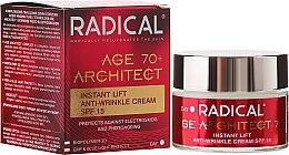 Парфюми, Парфюмерия, козметика Уплътняващ крем за лице против бръчки 70+ - Farmona Radical Age Architect Cream 70+ SPF15