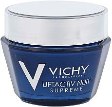 Парфюмерия и Козметика Нощен лифтинг крем за лице против бръчки - Vichy LiftActiv Nuit Supreme (тестер)