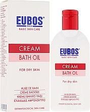 Парфюмерия и Козметика Олио за вана - Eubos Med Basic Skin Care Cream Bath Oil For Dry Skin