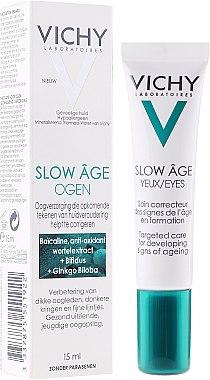 Околоочен крем - Vichy Slow Age Eye Cream — снимка N2