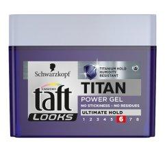 Парфюми, Парфюмерия, козметика Гел за коса - Schwarzkopf Taft Looks Titan Power Gel Ultimate Hold