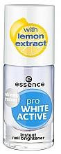 Парфюмерия и Козметика Избелващ лак за нокти - Essence Pro White Active