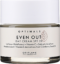 Парфюмерия и Козметика Дневен крем за лице SPF 20 - Oriflame Optimals Even Out UniTone Day Cream SPF 20