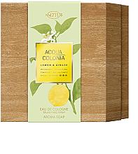 Парфюмерия и Козметика Maurer & Wirtz 4711 Aqua Colognia Lemon & Ginger - Комплект (одеколон/170ml + сапун/100g)