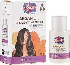 Масло за изтощена коса - Ronney Argan Oil Rejuvenating Hair Therapy — снимка N1