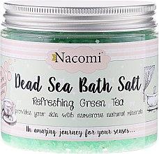 Сол от Мъртво море за вана с аромат на зелен чай - Nacomi Dead Sea Bath Salt — снимка N1