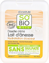 Парфюмерия и Козметика Душ крем с магарешко мляко - So'Bio Etic Cream Shower