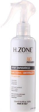 Спрей за оформяне на къдрици - H.Zone Ravvivaricci Spray — снимка N1