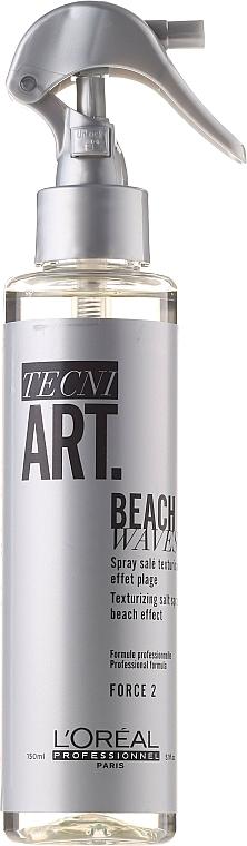 Текстуриращ спрей за коса с минерални соли - L'Oreal Professionnel Tecni.Art Beach Waves Forte 2