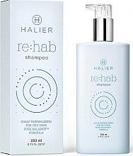 Парфюми, Парфюмерия, козметика Нормализиращ шампоан за мазна коса - Halier Re:hab Shampoo
