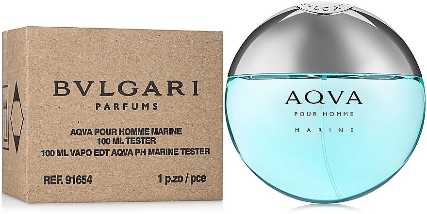 Bvlgari Aqva Pour Homme Marine - Тоалетна вода (тестер)  — снимка N2
