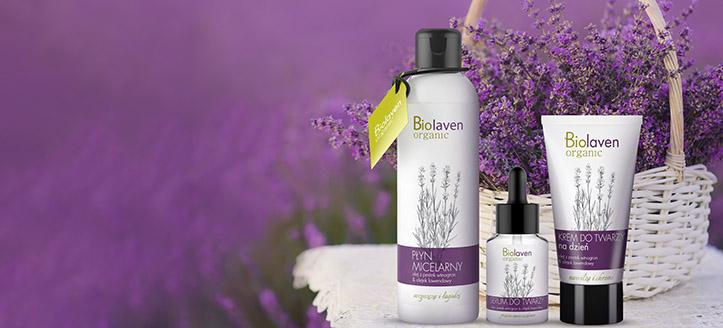 При покупка на продукти Biolaven за сума над 30 лв. получавате мицеларна вода подарък
