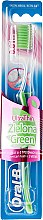 """Парфюми, Парфюмерия, козметика Четка за зъби с ултра тънки косъмчета """"Зелен чай"""" - Oral-B Ultra Thin ProGum Care Green Tea"""