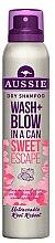 Парфюми, Парфюмерия, козметика Сух шампоан за коса - Aussie Dry Shampoo Wash Blow Sweet Escape