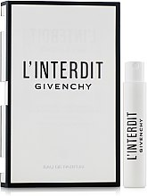 Парфюмерия и Козметика Givenchy L'Interdit - Парфюмна вода (мостра)