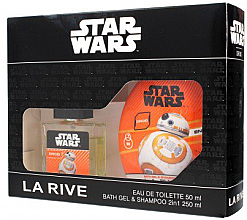 Парфюми, Парфюмерия, козметика La Rive Star Wars Droid - Комплект (тоал. вода/50ml + душ гел/250ml)