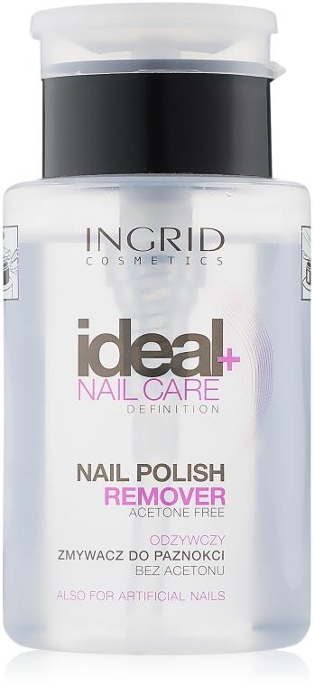 Лакочистител с дозатор - Ingrid Cosmetics Nail Polish Remover — снимка N1