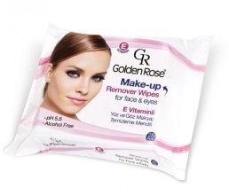 Парфюми, Парфюмерия, козметика Мокри кърпички за премахване на грим - Golden Rose Make-Up Remover Wipes