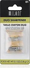 Парфюмерия и Козметика Двойна острилка за моливи - Milani Duo Sharpener
