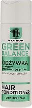 Парфюмерия и Козметика Балсам за мазна коса - Hegron Green Balance Hair Conditioner