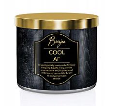 Парфюмерия и Козметика Парфюмна свещ с аромат на жасмин, свежи нектарини и сочен пъпеш - Kringle Candle Boujee Cool AF