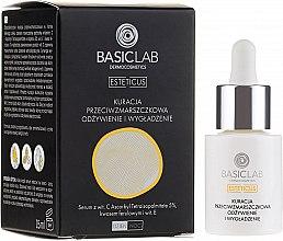 Парфюмерия и Козметика Серум за лице против бръчки - BasicLab Dermocosmetics Esteticus