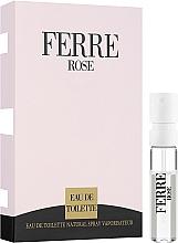 Парфюмерия и Козметика Gianfranco Ferre Ferre Rose - Тоалетна вода (мостра)