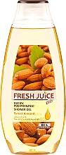 Парфюмерия и Козметика Душ масло с екстракт от сладък бадем - Fresh Juice Shower Oil Sweet Almond