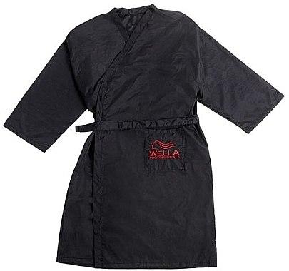Фризьорско кимоно - Wella Professionals Black Hairdressing Dress — снимка N1
