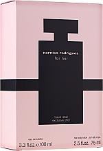 Парфюмерия и Козметика Narciso Rodriguez For Her - Комплект (тоал. вода/100ml + крем за тяло/75ml)