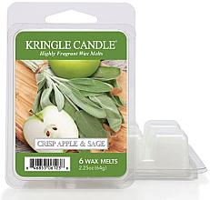 Парфюмерия и Козметика Ароматен восък - Kringle Candle Wax Crisp Apple & Sage
