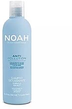 Парфюмерия и Козметика Почистващ и овлажняващ шампоан с екстракт от алое и масло от моринга - Noah Anti Pollution Detox Shampoo