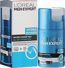 Парфюми, Парфюмерия, козметика Хидратиращо мляко за лице за мъже - L'Oreal Paris Men Expert Hydra Power Water Power Milk