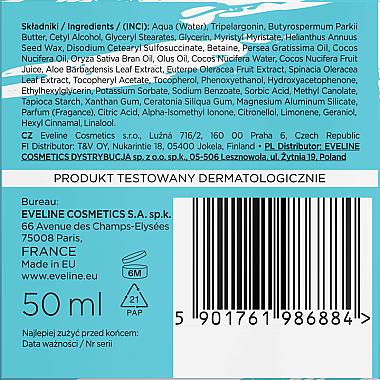 Овлажняващ крем за лице - Eveline Cosmetics Natural Beauty Foods Bio Vegan — снимка N4
