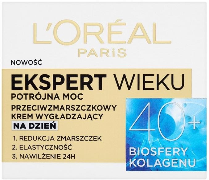 Дневен крем за лице - L'Oreal Paris Age Specialist Expert Day Cream 40+