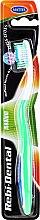 Парфюмерия и Козметика Четка за зъби Rebi-Dental M42, средно твърда, зелена - Mattes