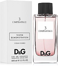 Парфюми, Парфюмерия, козметика Dolce & Gabbana Anthology L`Imperatrice 3 - Тоалетна вода (тестер с капачка)