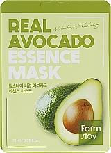 Парфюмерия и Козметика Подхранваща маска за лице с екстракт от авокадо - FarmStay Real Avocado Essence Mask