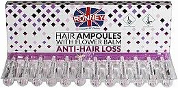 Парфюмерия и Козметика Ампули против косопад - Ronney Hair Ampoules With Flower Balm Anti-Hair Loss
