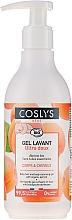 Детски почистващ гел за тяло и коса с органична кайсия - Coslys Baby Care Baby Cleansing Gel-Hair & BodyWith Organic Apricot — снимка N1