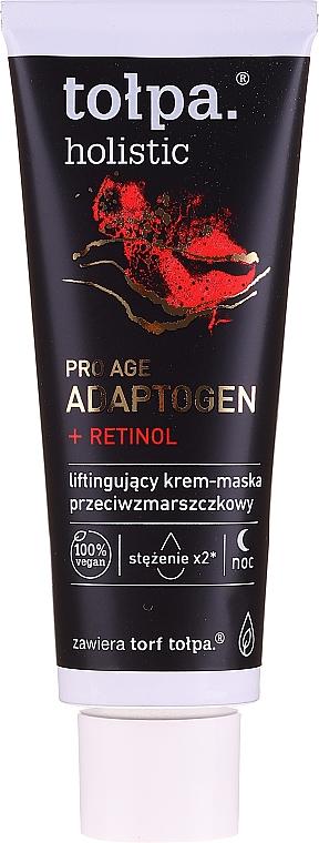 Нощна крем-маска за лице против бръчки - Tolpa Holistic..