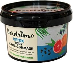 Парфюмерия и Козметика Скраб-гомаж за тяло - Berrisimo Detox Body Scrub-Gommage
