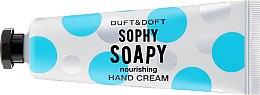 """Парфюми, Парфюмерия, козметика Подхранващ крем за ръце """"Sophy Soapy"""" - Duft & Doft Nourishing Hand Cream Sophy Soapy Soap&Orchid Flowers"""