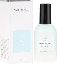 Парфюми, Парфюмерия, козметика Дълбоко хидратиращ серум против бръчки - Thank You Farmer True Water Deep Serum