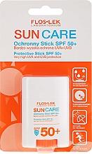 Парфюмерия и Козметика Слънцезащитен стик SPF50+ - Floslek Sun Care Protective Stick SPF50+