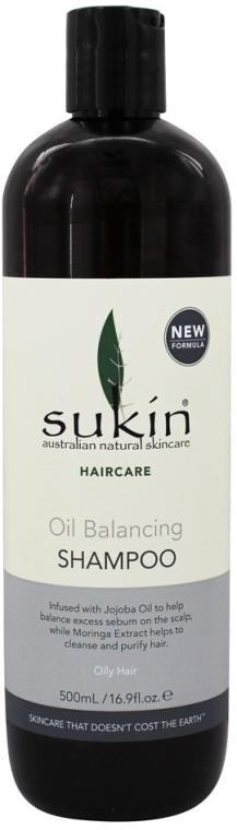 Шампоан за мазна коса - Sukin Oil Balancing Shampoo — снимка N1