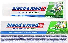 Парфюми, Парфюмерия, козметика Паста за зъби - Blend-a-med Anti-Cavity Herbal Natural