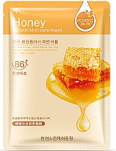 """Парфюми, Парфюмерия, козметика Памучна маска за лице """"Мед"""" - Rorec Natural Skin Honey Mask"""