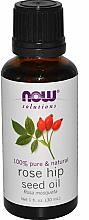 Парфюмерия и Козметика Етерично масло от шипка - Now Foods Essential Oils 100% Pure Rose Hip Seed Oil